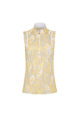 Show details for Swing out Sister Ladies Lua Sleeveless Top - Animal