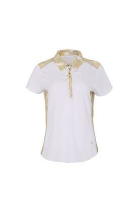 Show details for Swing out Sister Ladies Calypso Hybrid Cap Sleeve Polo Shirt - Animal
