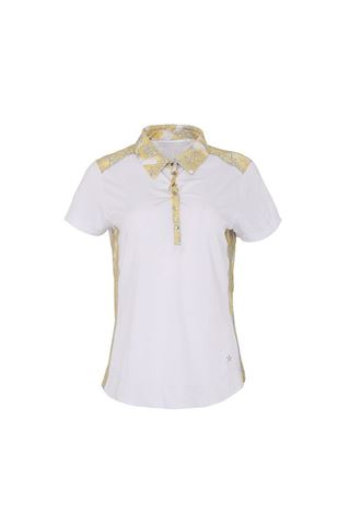 Picture of Swing out Sister Ladies Calypso Hybrid Cap Sleeve Polo Shirt - Animal