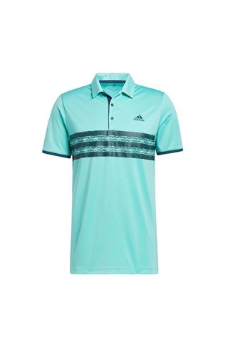 Picture of adidas Men's Core Polo Shirt - Acid Mint / Wild Teal