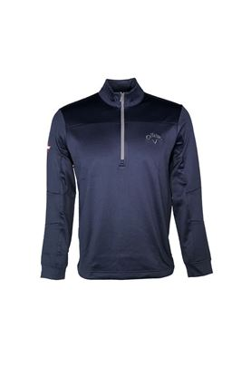 Show details for Callaway Men's Weather Series Odyssey Waffle Sweater - Peacoat 410