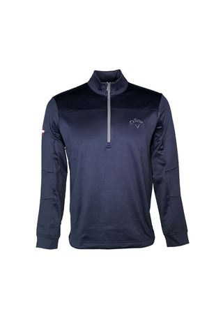Picture of Callaway Men's Weather Series Odyssey Waffle Sweater - Peacoat 410