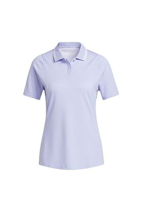 Show details for adidas Women's Heat RDY Short Sleeve Polo Shirt - Violet Tone