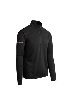 Show details for Callaway Men's Weather Series Odyssey Waffle Sweater - Caviar
