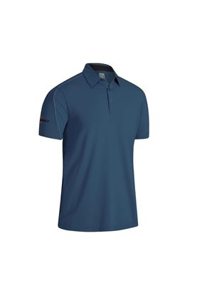 Show details for Callaway Men's Stitched Colour Block Polo Shirt - Real Teal