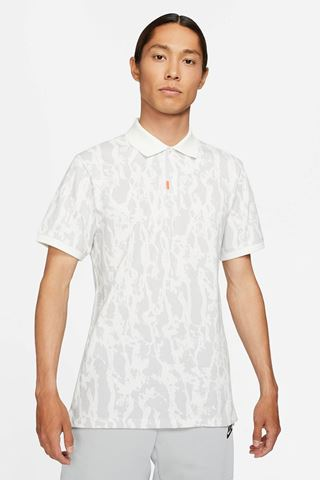 Picture of Nike Golf Men's Slim Fit The Bark Polo Shirt - White 121