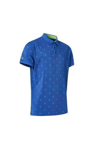 Picture of Abacus Men's Hankley Polo Shirt - Atlantic Blue
