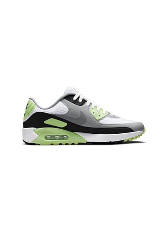 Picture of Nike Golf Men's Air Max 90 G Golf Shoes - White / Particle Grey / Black