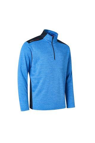 Picture of Abacus Men's Sunningdale Half Zip Sweater - True Blue 314
