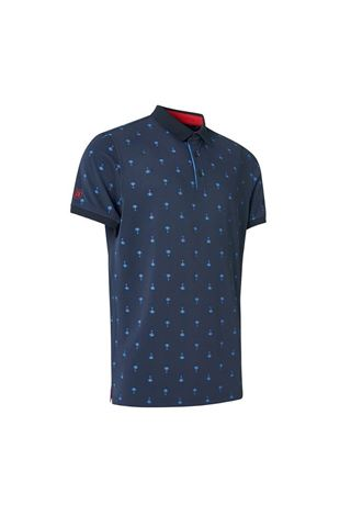 Picture of Abacus Men's Hankley Polo Shirt - Navy 300