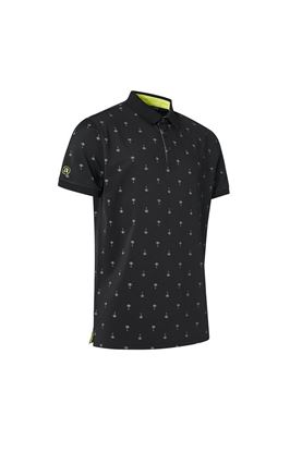 Show details for Abacus Men's Hankley Polo Shirt - Black 600