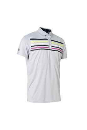 Show details for Abacus Men's Louth Polo Shirt - it Grey