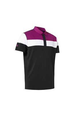 Show details for Abacus Men's Berrow  Polo Shirt - Black 600