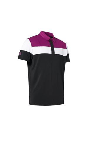 Picture of Abacus Men's Berrow  Polo Shirt - Black 600