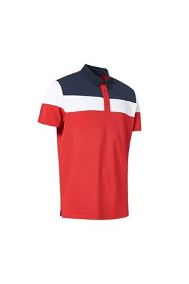 Show details for Abacus Men's Berrow Polo Shirt - Red 400