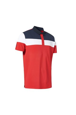 Picture of Abacus Men's Berrow Polo Shirt - Red 400