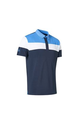 Show details for Abacus Men's Berrow Polo Shirt -  Navy 300
