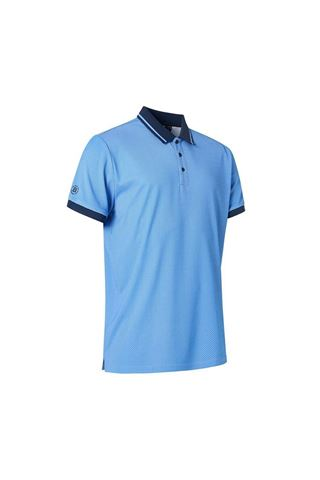 Picture of Abacus Men's Rye Drycool Polo Shirt - True blue 314