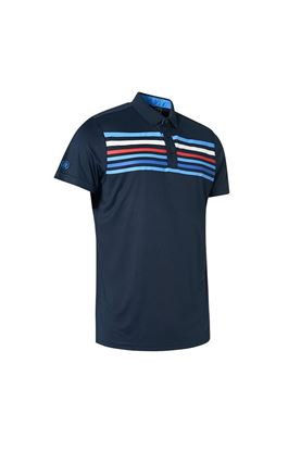 Show details for Abacus Men's Louth Polo Shirt - Navy 300