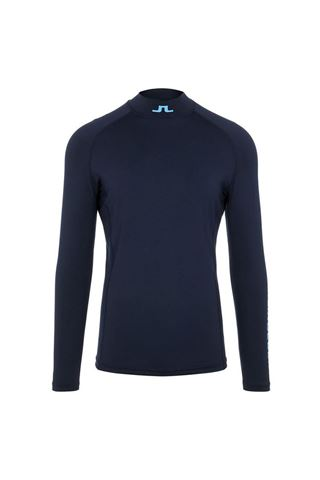 Picture of J.Lindeberg Men's Aello Soft Compression Top - JL Navy