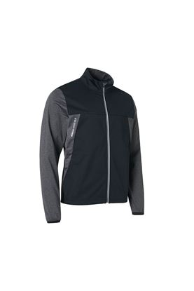 Show details for Abacus Men's Dornoch Softshell Hybrid Jacket - Dark Grey Melange