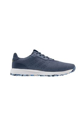 Show details for adidas Men's S2G Spikeless Golf Shoes - Crew Blue / Crew Navy / Crew Yellow