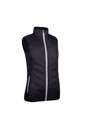 Show details for Sunderland of Scotland Ladies Tania Padded Performance Gilet - Black / Silver