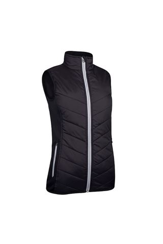 Picture of Sunderland of Scotland Ladies Tania Padded Performance Gilet - Black / Silver