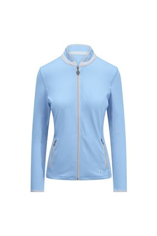 Picture of Pure Golf Ladies Mist Plain Midlayer Jacket - Pale Blue