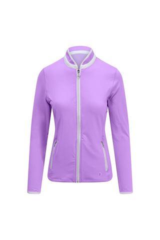 Picture of Pure Golf Ladies Mist Plain Midlayer Jacket - Lilac