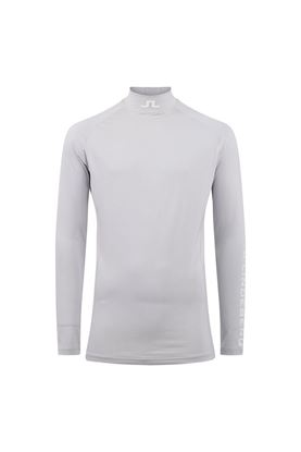 Show details for J.Lindeberg Men's Aello Soft Compression Top - Micro Chip
