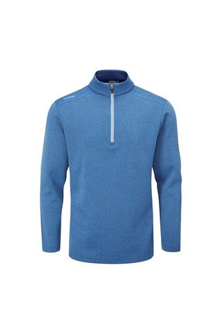 Picture of Ping Men's Ramsey 1/4 Zip Sweater - Delph Blue Marl