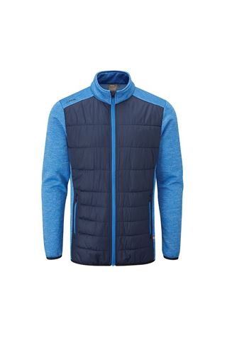 Picture of Ping Men's Dover Quilted Jacket - Oxford Blue / Delph Blue