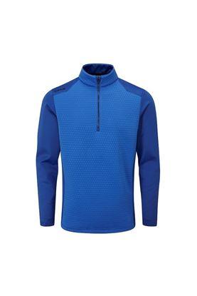 Show details for Ping Golf Men's Mellor Half Zip Fleece - Delph Blue / Delph Blue
