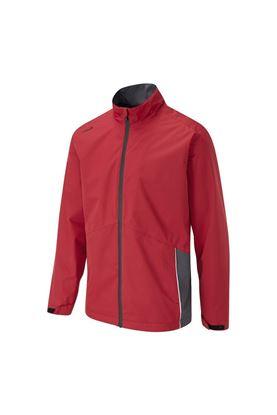 Show details for Ping Men's Sensordry Waterproof Jacket - Firebrick / Asphalt