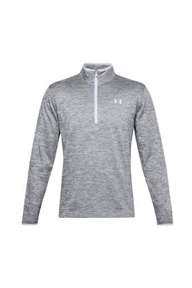 Show details for Under Armour Men's Armour Fleece 1/2 Zip Sweater - Grey 014