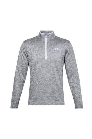 Picture of Under Armour Men's Armour Fleece 1/2 Zip Sweater - Grey 014
