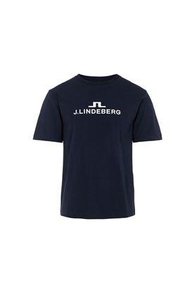 Show details for J.Lindeberg Men's Alpha T-Shirt - JL Navy