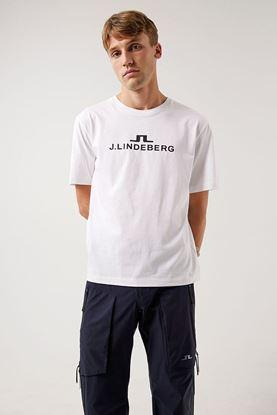 Show details for J.Lindeberg Men's Alpha T-Shirt - White