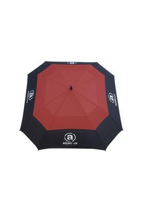 Show details for Abacus Square Umbrella - Red