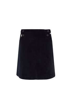 Show details for Swing out Sister Ladies Kristina Cord Skort with Tights - Navy