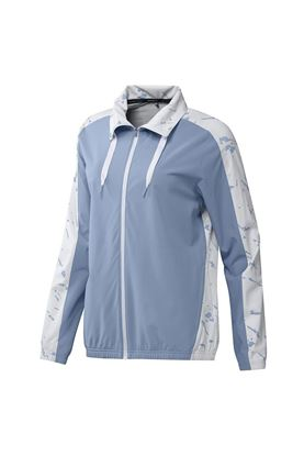 Show details for adidas Women's Primeblue Full Zip Jacket - Ambient Sky