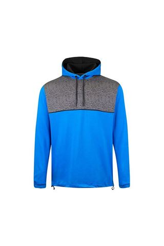 Picture of Island Green Men's Hooded Sweater - Marine / Charocal Marl / Black